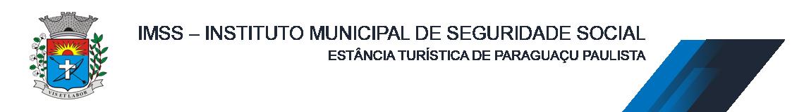 IMSS - INSTITUTO MUNICIPAL DE SEGURIDADE SOCIAL DE PARAGUAÇU PAULISTA